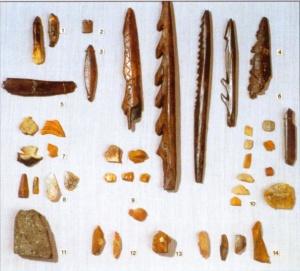 Инвентарь мезолитической стоянки Соколок