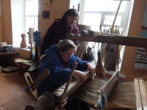 Заправка ткацкого станка